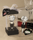 Crystal Ball Bottle Stopper Favors