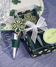 Shamrock - Trinity Love Knot Bottle Stopper Favors
