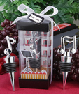 Musical Theme Wine Bottle Stopper Favors