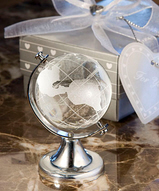 Crystal Globe Favors