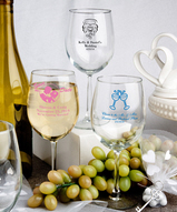 12 oz Wine Glass Personalized