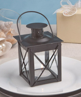 Black Luminous Lantern