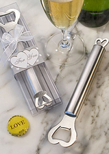 Amore Stainless Bottler Opener Favors