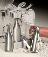 Amore Stainless Keyring Barware Favors