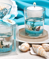 Beach Theme Candle Favor