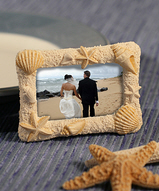 Beach Theme Place Card / Frame Favors