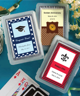 Personalized Graduation Playing Card Favors