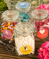 All Occasion Apothecary Jar Favors Personalized
