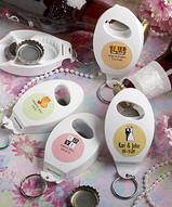 Bottle Opener & Key Chain Personalized Favor