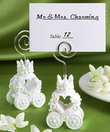 Royal Coach Place Card Holder Favors