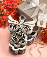 Angel Design Curio Box Favor