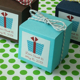Party Theme Cube Favor Box Kit