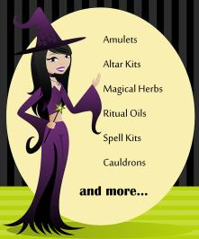 Real Wiccan Witch