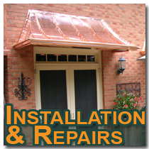 awnings installations and repairs in Atlanta