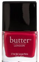 butter londonblowing raspberries
