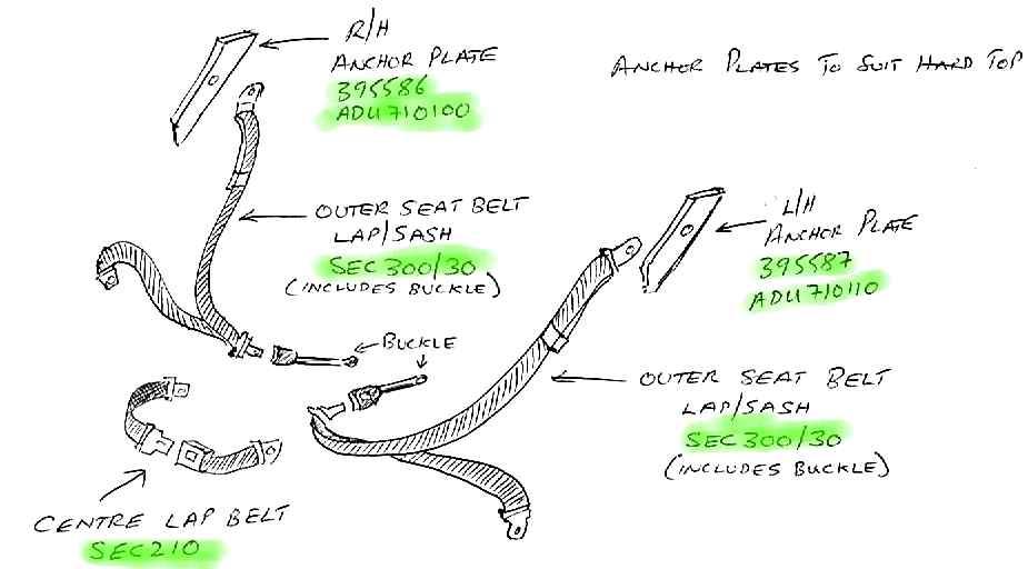 Jeep Wrangler Seat Belts Jeep Wrangler Underbody Parts Diagram, Jeep, Free Engine ...