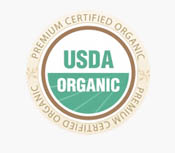 Harrisons Premium Certified Organic USDA Seal