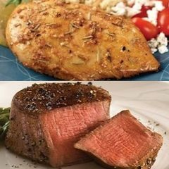 Deluxe Sampler Meals