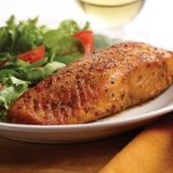 Marinated Salmon Meal